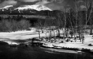 Springtime At Mt Katahdin