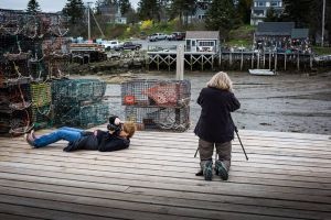 Shooting on the Wharf