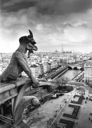 High Above Paris