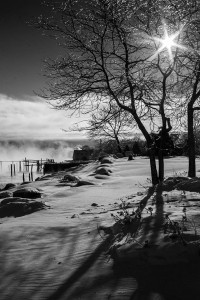 Maine Winter Scene